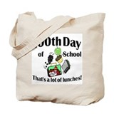 100th Day Lunches Tote Bag