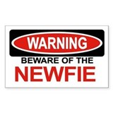 NEWFIE Rectangle Decal