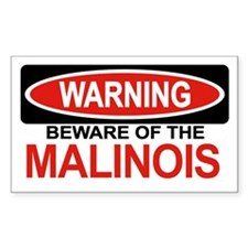 MALINOIS Rectangle Decal