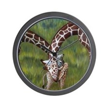 Giraffes Wall Clock
