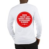 Bloodhound Slobber Long Sleeve T-Shirt