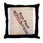 Ron Paul Constitution Throw Pillow