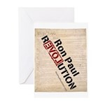 Ron Paul Constitution Greeting Cards (Pk of 20)