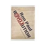 Ron Paul Constitution Rectangle Magnet