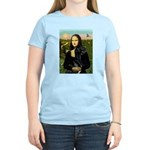 Mona / Gr Dane (bl) Women's Light T-Shirt
