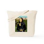 Mona / Gr Dane (bl) Tote Bag