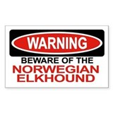 NORWEGIAN ELKHOUND Rectangle Decal