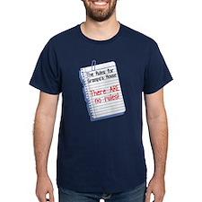 No Rules at Grampa's House T-Shirt