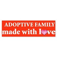 Adoption Bumper Bumper Sticker