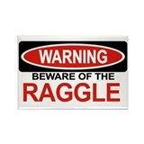 RAGGLE Rectangle Magnet (10 pack)