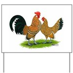 Mille Fleur Dutch Bantams Yard Sign