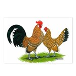 Mille Fleur Dutch Bantams Postcards (Package of 8)