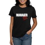 Off Duty Manager Women's Dark T-Shirt