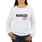 Off Duty Manager Women's Long Sleeve T-Shirt