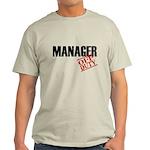 Off Duty Manager Light T-Shirt