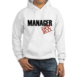 Off Duty Manager Hooded Sweatshirt