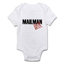 Off Duty Mailman Infant Bodysuit