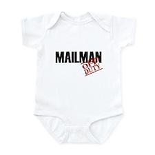 Off Duty Mailman Infant Bodysuit