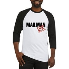 Off Duty Mailman Baseball Jersey