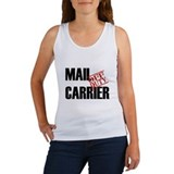 Off Duty Mail Carrier Women's Tank Top