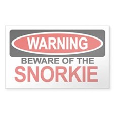 SNORKIE Rectangle Decal