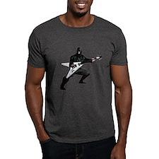 """Guitar Ninja """"V"""" T-Shirt"""