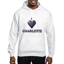 I Love Charlotte #5 Hoodie