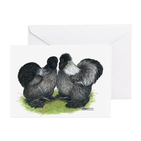 Gray Silkies Greeting Cards (Pk of 10)