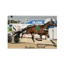 Harness racing Rectangle Magnet