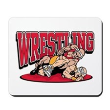 Wrestling Takedown Mousepad