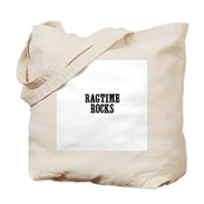 Ragtime Rocks Tote Bag