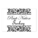 Pimp nation Turkey Postcards (Package of 8)