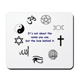 It's not about the name . . . Mousepad