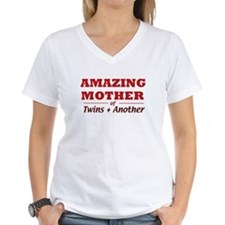 Amazing Mother (Twins +1) Shirt