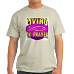 Living On Prayer Ash Grey T-Shirt