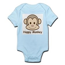 Happy Monkey Infant Creeper