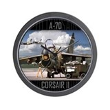 A-7D Corsair II Aircraft Wall Clock