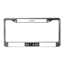 Funny Compassion License Plate Frame