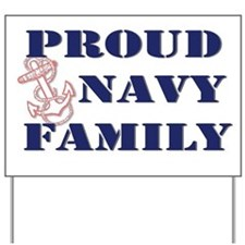 Cute Usn sister Yard Sign