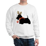 Scottie Dog Reindeer Sweatshirt