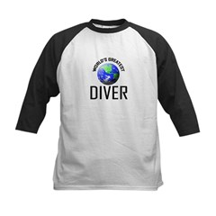 World's Greatest DIVER Kids Baseball Jersey