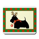Scottish Terrier Christmas Mousepad