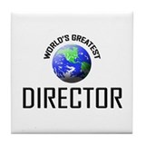 World's Greatest DIRECTOR Tile Coaster