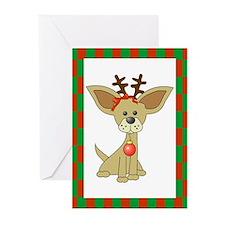Chihuahua Christmas Greeting Cards (Pk of 20)