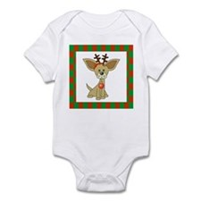 Chihuahua Christmas Infant Bodysuit