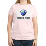 World's Greatest DEONTOLOGIST T-Shirt
