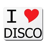 I Heart Disco Mousepad