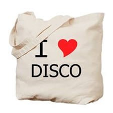 I Heart Disco Tote Bag