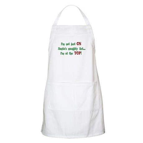 Top of the List BBQ Apron