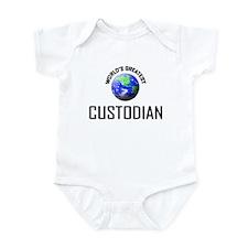 World's Greatest CUSTODIAN Infant Bodysuit